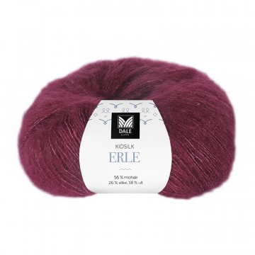 Kid Silk Erle 4026 Vinrød
