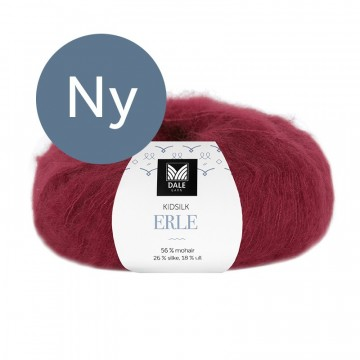 Kid Silk Erle 9043 Dyprød