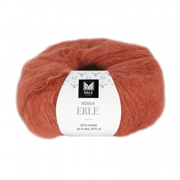 Kid Silk Erle 9034 Terracotta