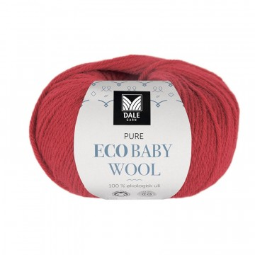 Pure Eco Baby Wool 1318 Krapprød