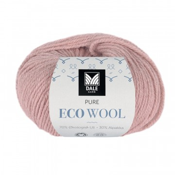 Pure Eco Wool 1227 Dus gammelrosa