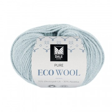 Pure Eco Wool 1213 Dus gråblå