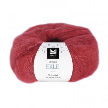 Kid Silk Erle 4033 Rød