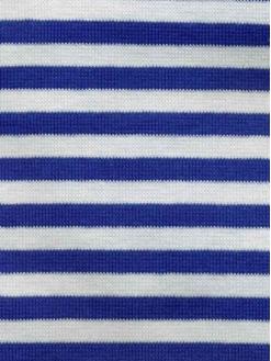 Bomull jersey med striper